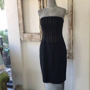 Laundry by Shelli Segal - Black Strapless Dress